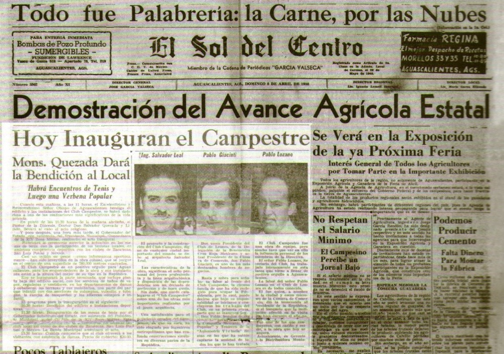 Historia Club Campestre